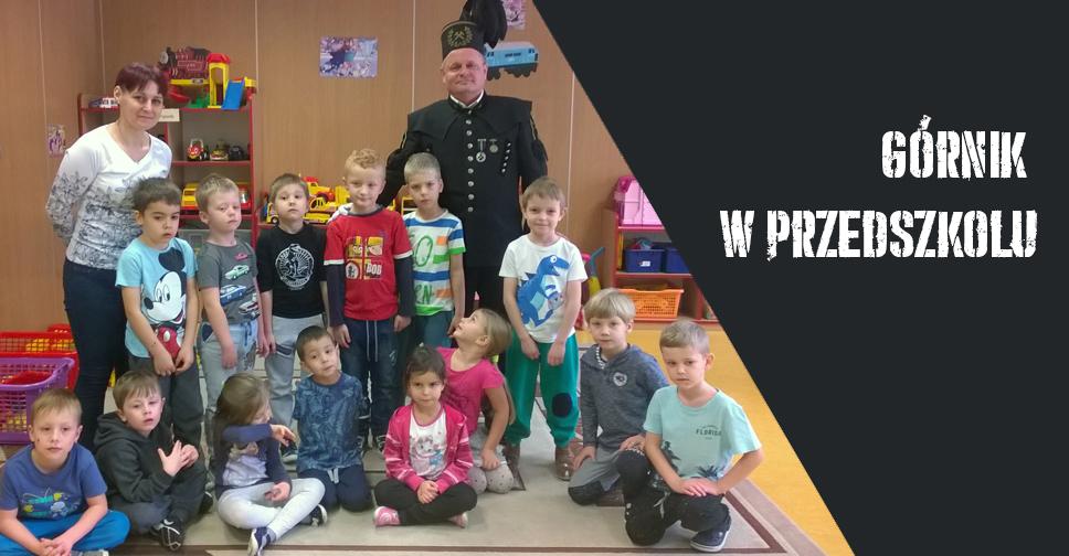 Górnik W Przedszkolu Przedszkole Samorządowe W Krzeszowicach