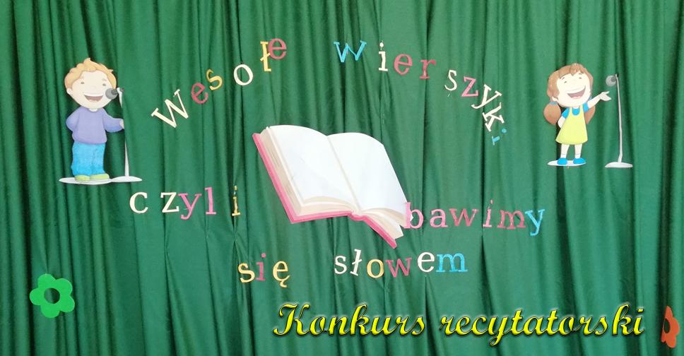 Konkurs Recytatorski Przedszkole Samorządowe W Krzeszowicach