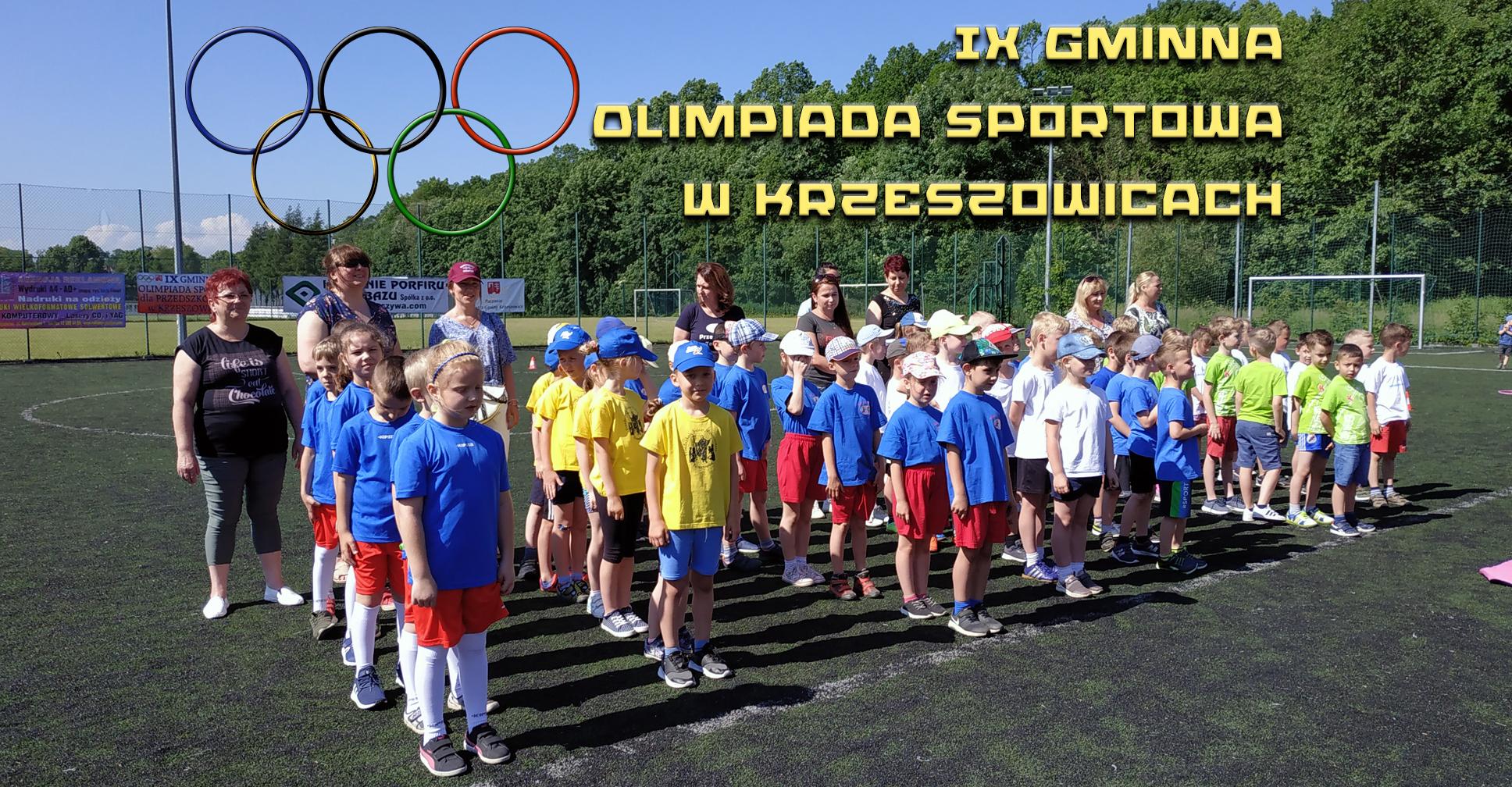 IX Gminna Olimpiada Sportowa w Krzeszowicach