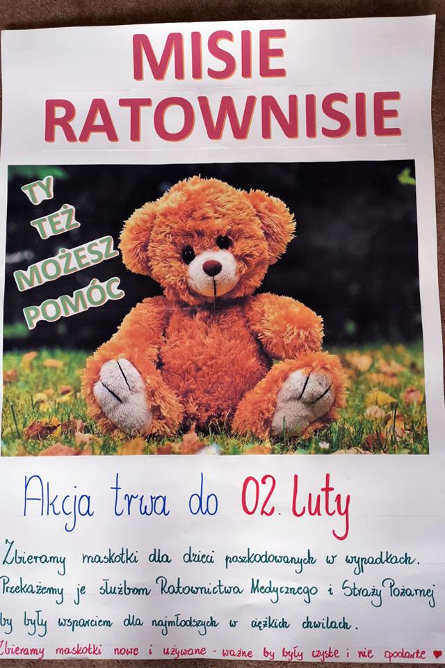 W Przedszkolu Samorządowym w Krzeszowicach do 2 lutego 2020 zbieramy maskotki dla dzieci poszkodowanych w wypadkach. Przekażamy je służbom Ratownictwa Medycznego i Strazy Pożarnej by były wsparciem dla najmłodszych w cięzkich chwilach. Zbieramy maskotki nowe i używane - WAŻNE by były czyste i nie podarte.