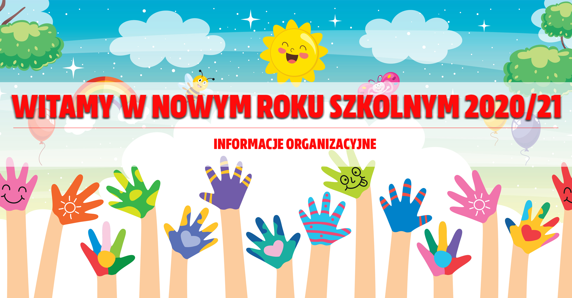 Witamy w nowym roku szkolnym 2020/21