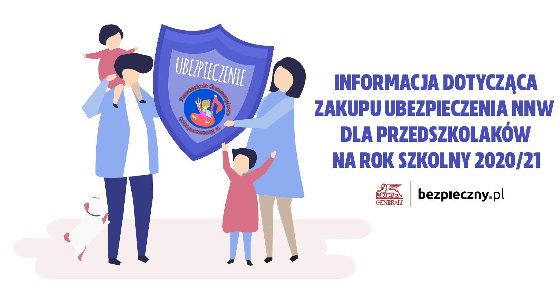 Ubezpieczenie NNW dla Przedszkolaków na rok 2020/21